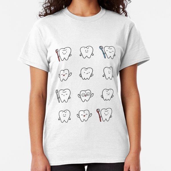 Funny teeth Classic T-Shirt
