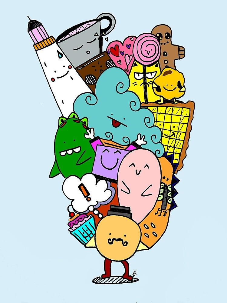 Welcome to Doodle World by ziggyandthezag