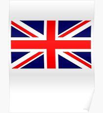 British, War Flag, Union Jack Flag, 3:5 UK, GB, Britain, United Kingdom, Army, Pure & Simple Poster