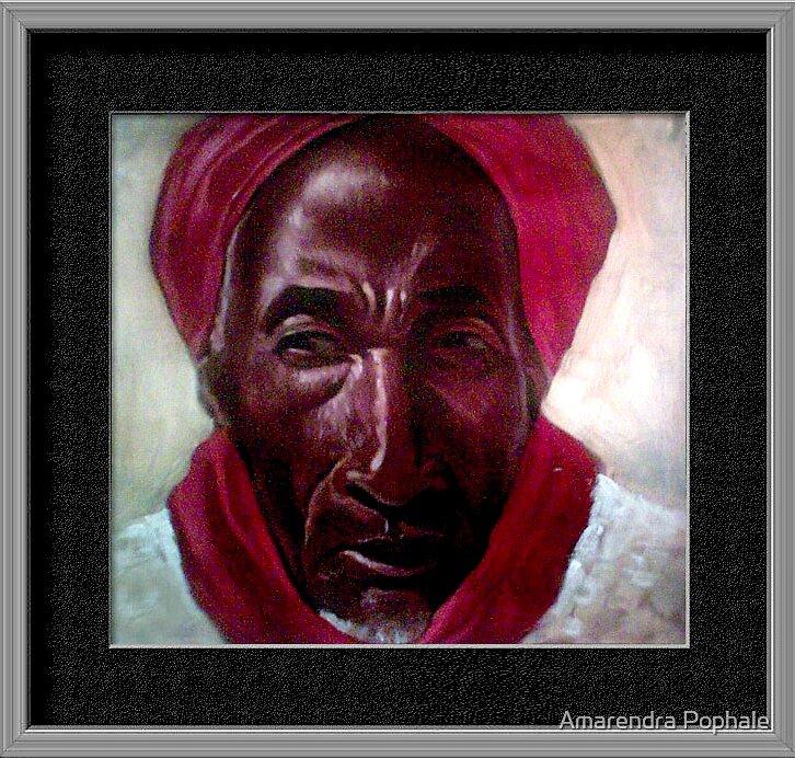 Portrait Painting by Amarendra Pophale