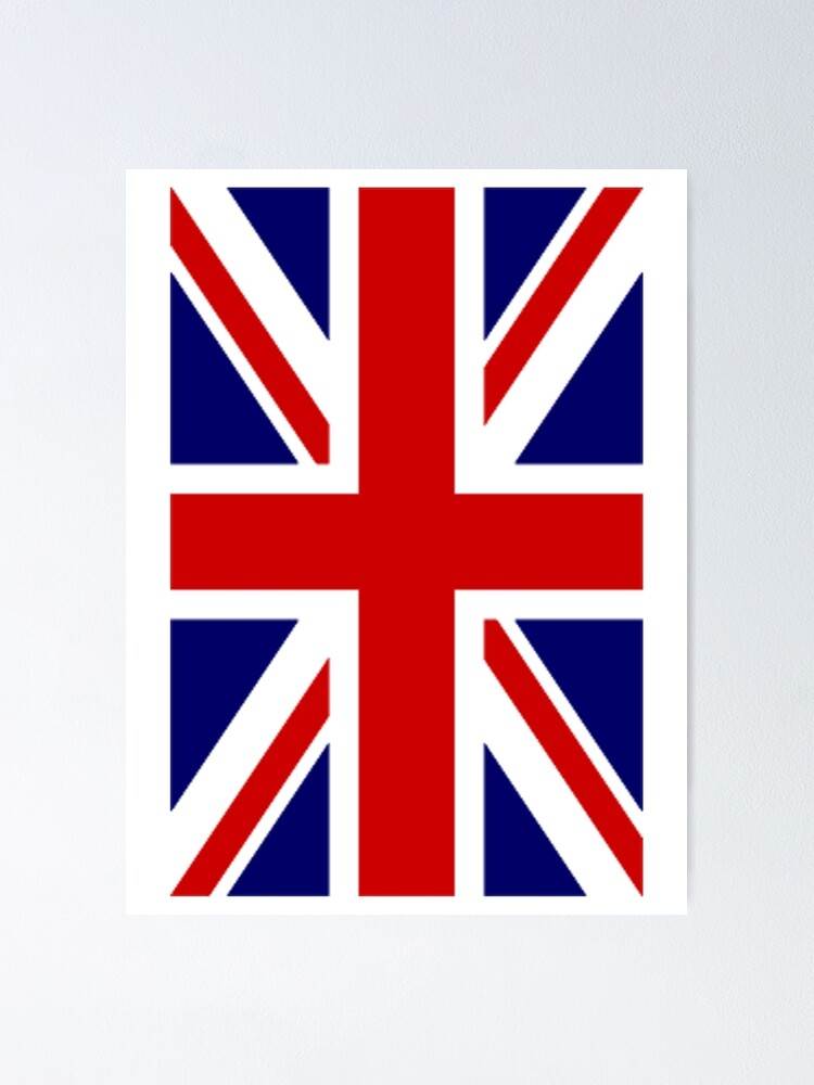 36 x 24 Union Jack British Flag Canvas Wall Art Print