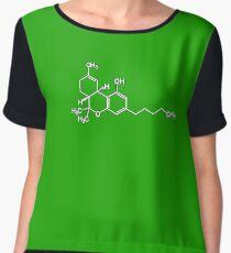 Cannabis Women's Chiffon Top