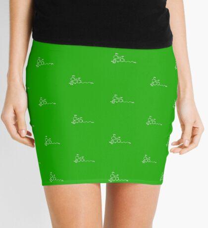 Cannabis Mini Skirt