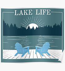 Lake Life Poster
