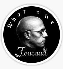 WTF Foucault Sticker