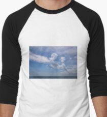 Camiseta ¾ estilo béisbol Nubes 2017-1