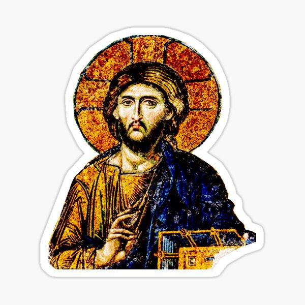 Jesus Christ, Pantocreator Sticker