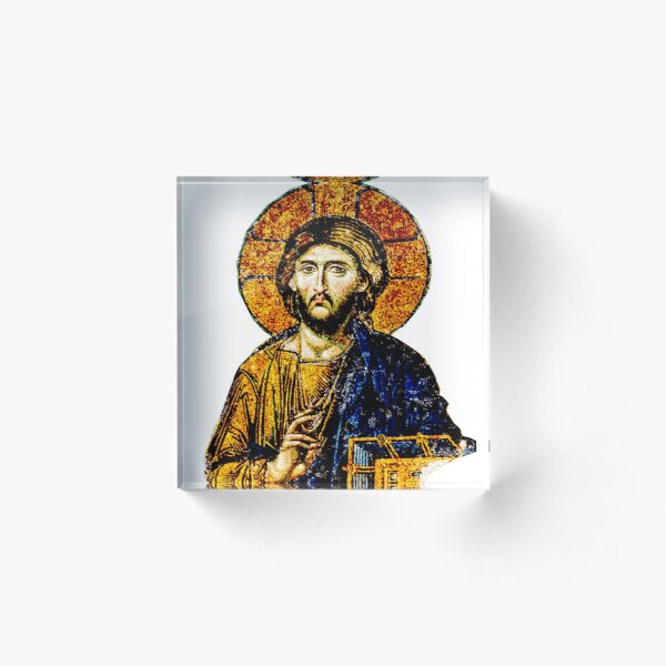 Jesus Christ, Pantocreator Acrylic Block
