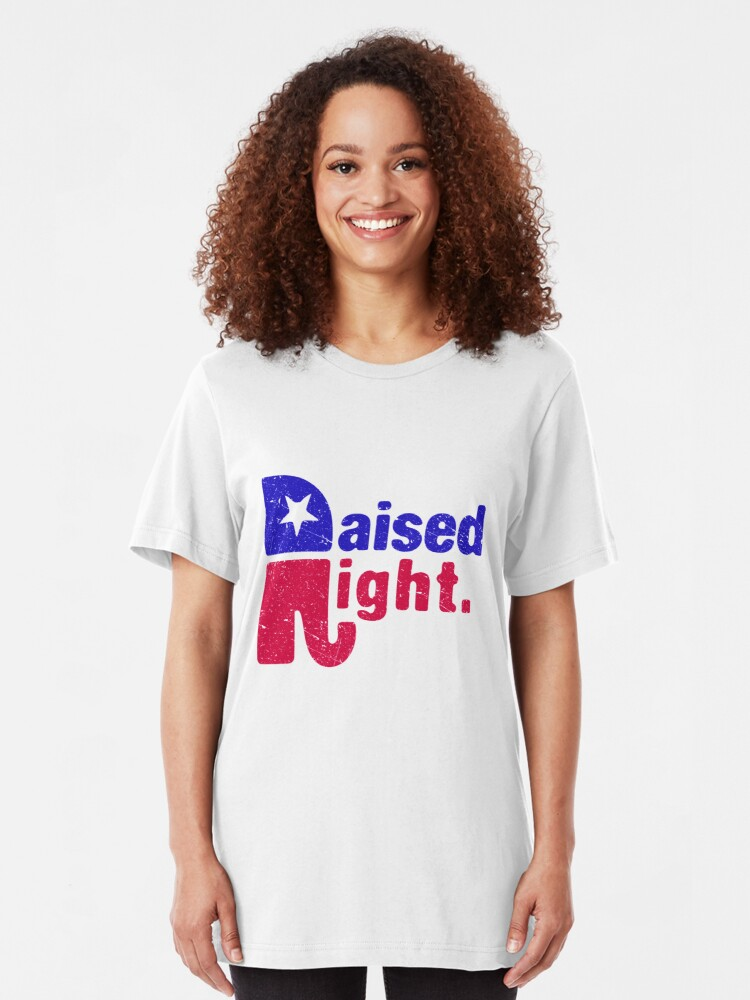 Alternative Ansicht von Raised Right - Republikanischer Elefant Slim Fit T-Shirt