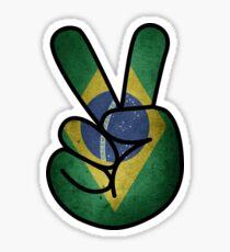 Brazilian Peace. Sticker