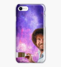 Bob Ross Paints Space iPhone Case/Skin