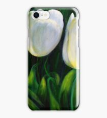 Tranquil tulips iPhone Case/Skin