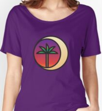 Crescent Palm Women's Relaxed Fit T-Shirt