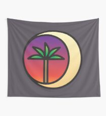 Crescent Palm Wall Tapestry