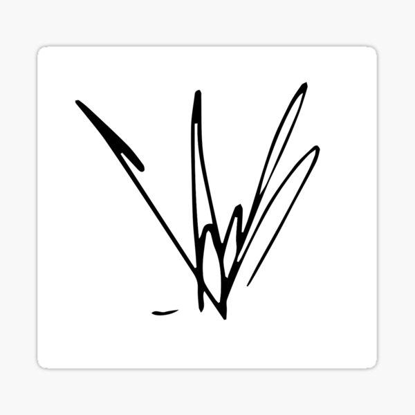 Chris Cornell Signature Sticker
