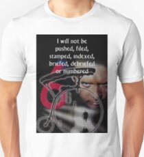 The Prisoner - I Will Not Be Numbered T-Shirt