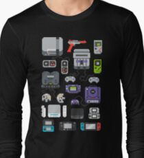 Super Pixel of my Childhood Long Sleeve T-Shirt