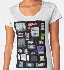 Super Pixel of my Childhood Women's Premium T-Shirt