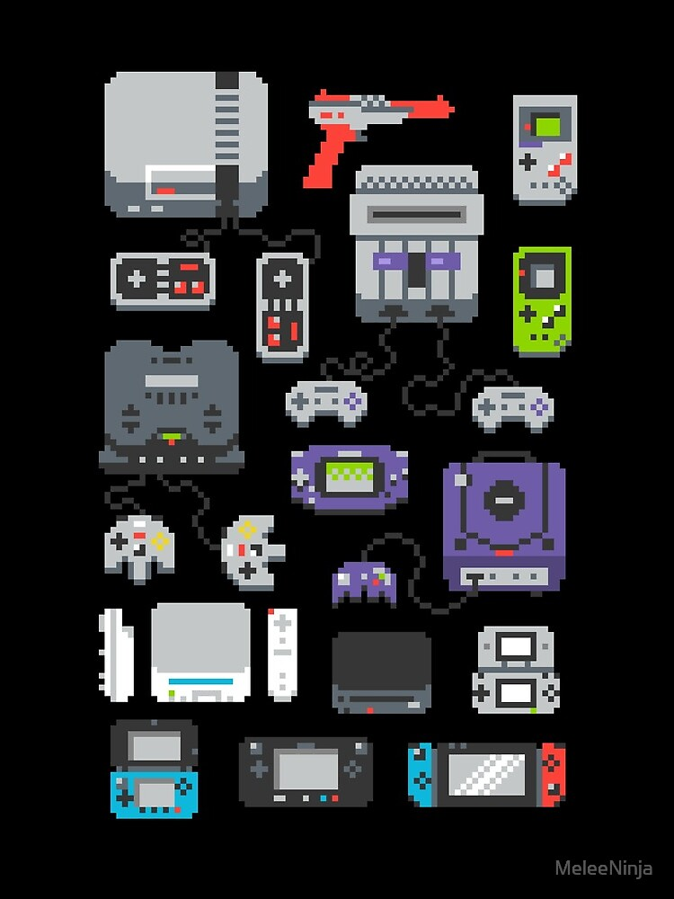 Super Pixel of my Childhood by MeleeNinja