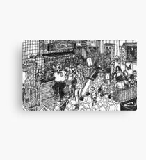 the imaginary restaurant of mine Canvas Print