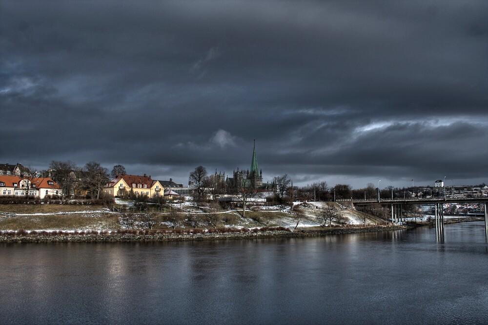 River by Bjørn Hovland Børve
