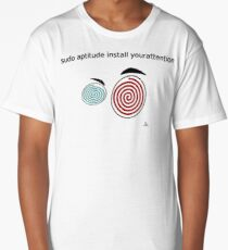 Your attention, please Long T-Shirt