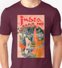 Vintage India Elephant Travel T-Shirt