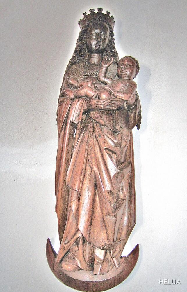 Mary Queen of Heaven by HELUA