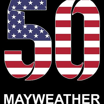 Mayweather 50 (US) by Apparellel