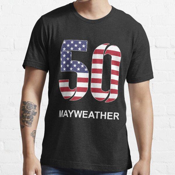 Mayweather 50 (EE. UU.) Camiseta esencial