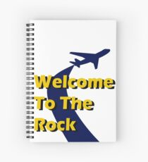Welcome To The Rock Spiral Notebook