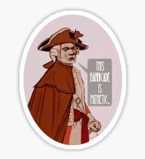 Major Hewlett Sticker