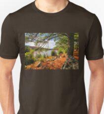 Autumn At The Lake   Unisex T-Shirt