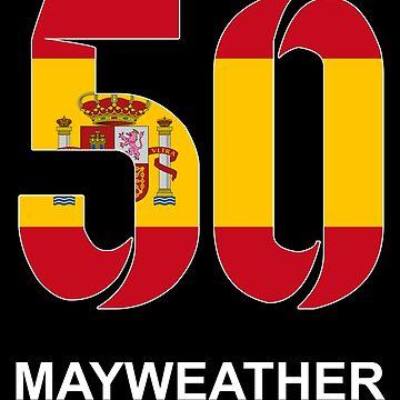 Mayweather 50 (SPAIN) by Apparellel