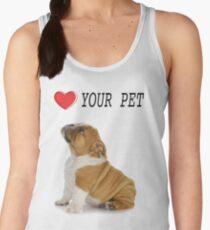 Love Your Pet Dog  Women's Tank Top
