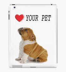 Love Your Pet Dog  iPad Case/Skin
