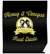 Honey & Vinegar Real Estate Poster