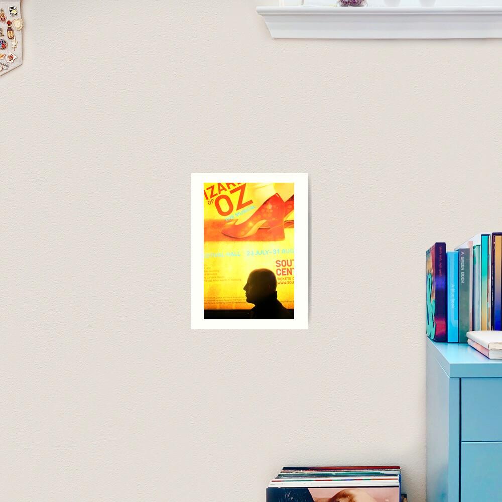 Ruby Red Slippers - Actor Eoin Whelan Art Print