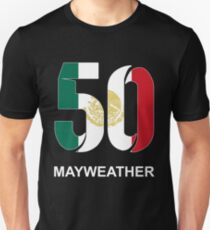 Mayweather 50 (MEXICO) T-Shirt