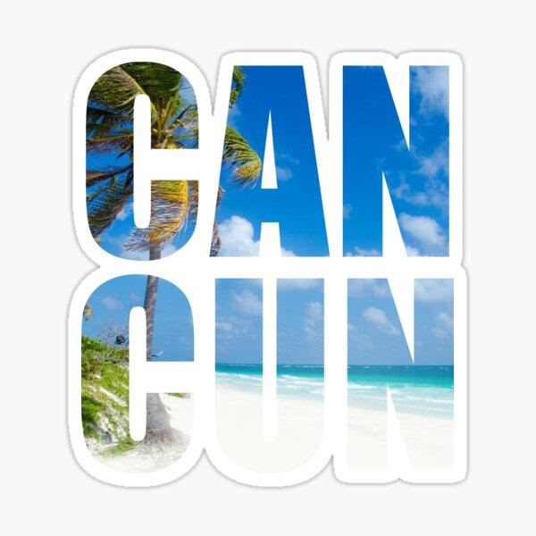 Cancun Mexico Beach Summer  Sticker
