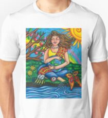 Child Earth from Joy and Sorrow Oracle.  T-Shirt