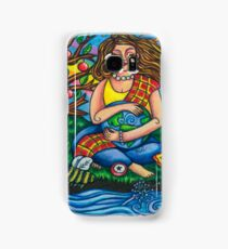 Child Earth from Joy and Sorrow Oracle.  Samsung Galaxy Case/Skin
