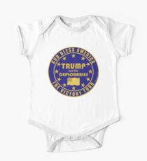 Trump And The Deplorables Victory Tour 45th President Kids Clothes