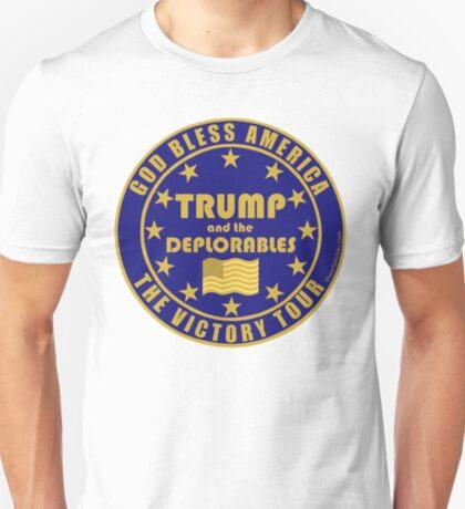 Trump And The Deplorables Victory Tour Pro Donald Trump T-Shirt