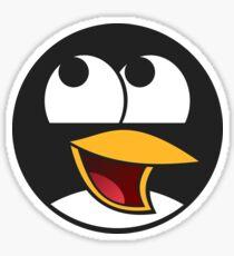 Linux Happy Penguin  Sticker