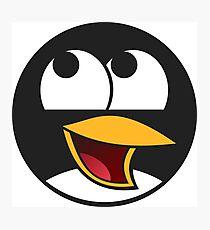 Linux Happy Penguin  Photographic Print