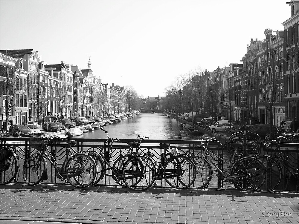 Canal in Amsterdam by CherylBee