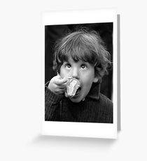 An Ecstacy of Youth Greeting Card