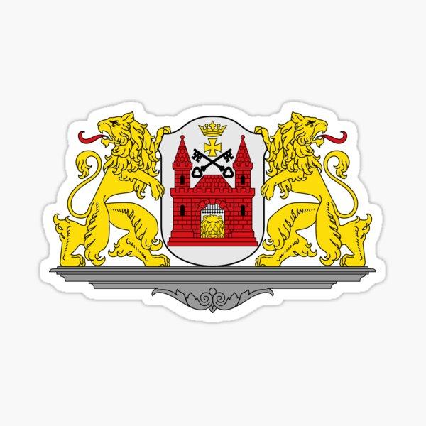 Riga coat of arms, Lativa Sticker