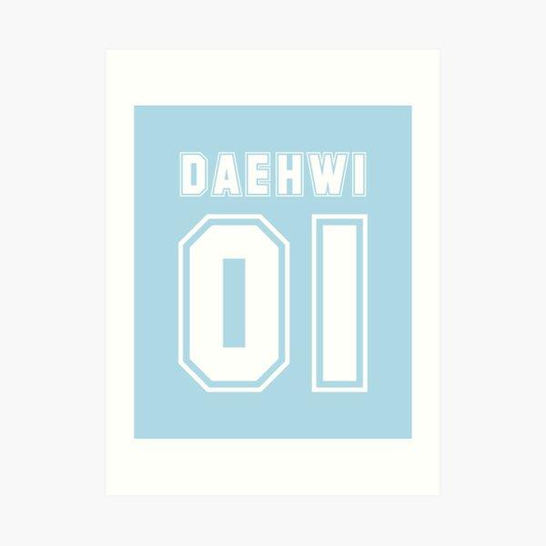 daehwi  Art Print